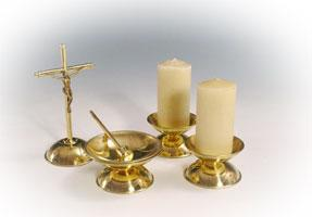 Brass-Table-Set
